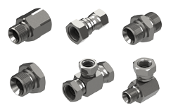 Hydraulic Fittings & Adaptors - Burnett & Hillman Multiple adaptors and fittings